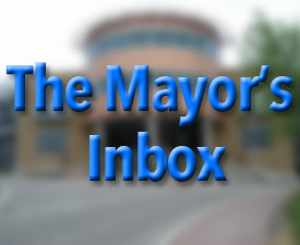 The Mayor's Inbox – November 2016